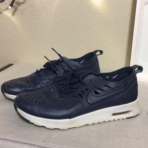 Navy Nike Running shoes